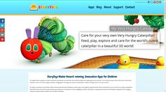 New site launch for StoryToys.com, one of the leading kids app developers in the world! Amazing graphics! Very Hungry Caterpillar, News Sites, App Development, Children, Kids, Wordpress, Product Launch, Graphics, Amazing