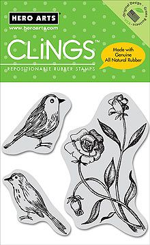 bird stamps rubber | clearance