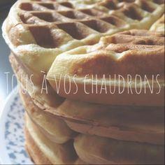 Tous à vos chaudrons: Gaufres Brunch, Waffle Recipes, Apple Pie, Menu, Breakfast, Desserts, Food, Chocolates, Cauldron