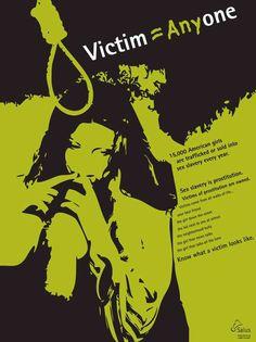 Human Trafficking Awareness Campaign | Designer: Lindsay Kronmiller | Image 1 of 6