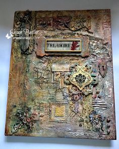 Scrumplescrunch: Mixed Media Book cover.