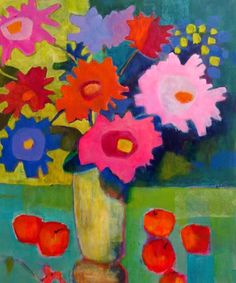 "Still Life Artists International: ""Mixed Bouquet"" by Santa Fe artist Annie O'Brien Gonzales"