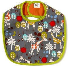 Check out this funky baby bib