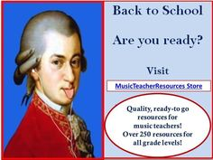 Back to School!!! Are you ready???      Here you will find over 250 resources to make your life easier!   #musiceducation    #musedchat