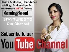 Subscribe to my You Tube Channel for awesome fashion tips, confidence buildings, health and fitness and many more.. Please share and tag to friends.