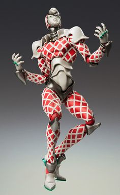 Crunchyroll - Store - King Crimson Jojo's Bizzare Adventure Super Action Statue Posable Figure