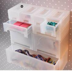 IKEA Kupol - Makeup storage idea