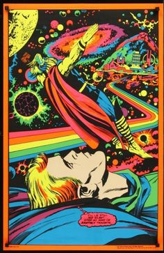 Jack Kirby-- blacklight!