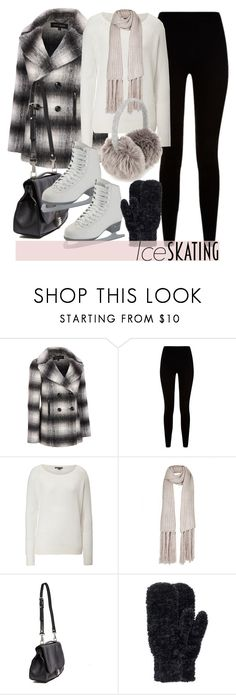 """""""Ice Skating"""" by foreverdreamt ❤ liked on Polyvore featuring Givenchy, Vince, Topshop, Proenza Schouler, M&S, H&M, Winter, outfit, iceskatingstyle and plus size clothing"""