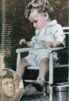Anne Morrow Lindbergh, Charles Lindbergh, Vintage Photos, Crime, History, Baby, World History, Historia, Baby Humor