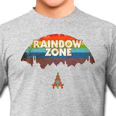 Rainbow Zone [ #arcade #retro #videogame #retrogaming #gaming #nerd #tshirt ]