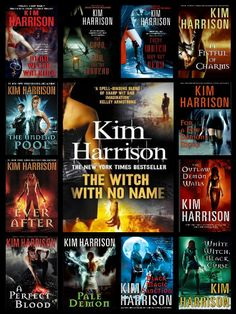 The Hollows - Rachel Morgan by Kim Harrison