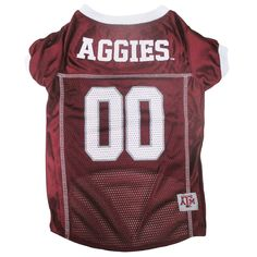 Texas A&M Aggies NCAA Dog Jersey