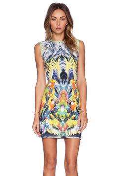 K A S New York Yuia Mini Dress in Multi | REVOLVE