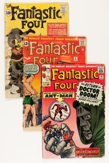 @@@BID TO OWN THESE 9 VINTAGE COMICS@@@Silver Age (1956-1969):Superhero, Fantastic Four Group (Marvel, 1962-64).... (Total: 9 Comic Books)