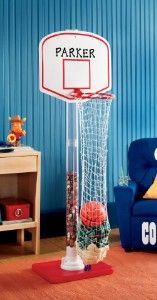 1000 images about kids bedroom on pinterest teen bedroom girl rooms and girls bedroom - Basketball hoop clothes hamper ...