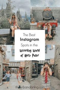 The Best Instagram Spots in The Wizarding World of Harry Potter