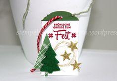 Christmas, Weihnachten, Noël, Anhänger, Tag, accompagnement - complément, Tree, Baum, Freude zur Weihnachtszeit, Lots of Joy, Berlin Stampin' Up!, SU   https://stempelnstanzenstaunen.wordpress.com/