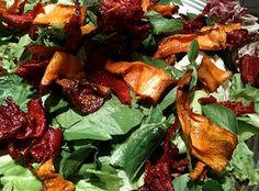 Salada de Beterraba e Abóbora - http://www.receitasja.com/salada-de-beterraba-e-abobora/