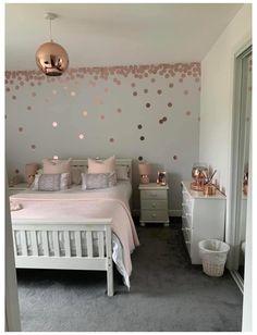 Big Girl Bedrooms, Bedroom Decor For Teen Girls, Cute Bedroom Ideas, Girl Bedroom Designs, Room Ideas Bedroom, Little Girl Rooms, Kids Bedroom, Girls Bed Room Ideas, Bedroom Ideas For Tweens