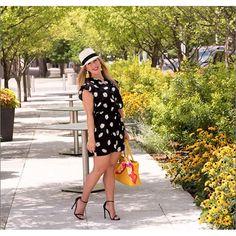 I'm crazy for daisies :blossom: this romper is on major sale @nordstrom / shop this look at @liketoknow.it http://liketk.it/2oMDN #liketkit #nsale #dallasblogger #dallas #sale #katespade #thedarlingpetitedivablog :camera_with_flash: @tara_tamer_photograph