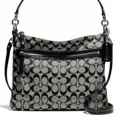 COACH Coach Poppy Perri Hippie in black. Gently used. Pictures and measurements coming soon. Coach Bags Crossbody Bags