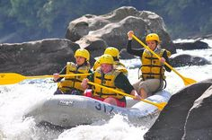 Whitewater on the Youghiogheny River in Ohiopyle State Park, PA  Girlfriends Getaways doesn't have to mean shopping.   http://www.whereandwhen.com