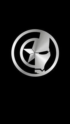 Popular Avengers Logo Wallpaper For Lockscreen Marvel Avengers, Marvel Comics, Marvel Memes, Iron Man Wallpaper, Hd Wallpaper, Marvel Captain America, Iron Man Captain America, Captain America Tattoo, Marvel Universe