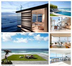 This exquisite masterpiece provides awe inspiring architectural proportions and a sophisticated interior which compliments the rugged panoramic coastline views of Wilderness, South Africa. Click the image for more information. Wilderness, South Africa, Compliments, Beautiful Homes, Villa, Mansions, Bedroom, Architecture, Luxury