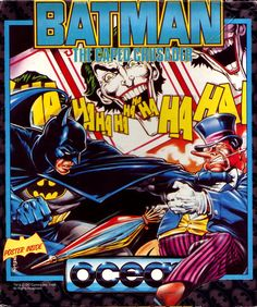 Batman The Caped Crusader for Amstrad CPC from Ocean: Batman The Caped Crusader for Amstrad CPC from Ocean. 1988 action adventure game that… Batman Cape, Den Of Geek, Retro Videos, Games Box, Battlestar Galactica, Box Design, Box Art, Cover Art, Game Art
