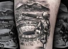 Este posibil ca imaginea să conţină: unul sau mai mulţi oameni Neymar Neck Tattoo, Tattoo Futbol, Soccer Tattoos, Football Tattoo, Father Tattoos, Dad Tattoos, Family Tattoos, Time Tattoos, Cool Tattoos For Guys