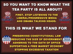 ...Tea Party Patriots is made up of the 'good guys' of every color. Join us.
