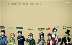 Funny Meet The Internet Like Facebookgoogle Hd Cartoon Fun Wallpapercartoon Fun Wallpaperfunny Quotes Imagesfacebook Fun