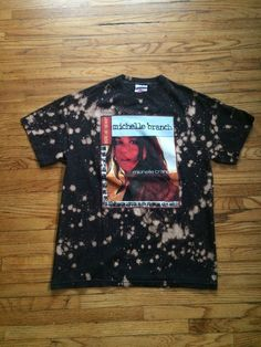 Bleached Michelle Branch Where Are You Now Tour T-Shirt by VintageVanShop on Etsy