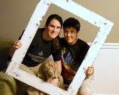 Rustic Wedding Photo Prop Frame