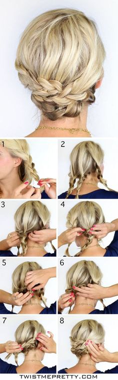 chignon inspired braid