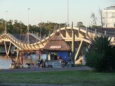 The Undulating Bridge, Punta del Este, Uruguay