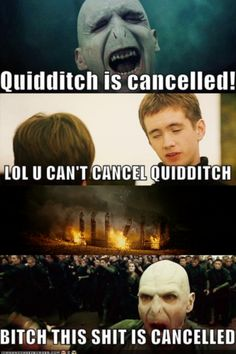 Harry Potter humor never gets old. - I wish I could have done this for a few days of band practice. Burn the field!