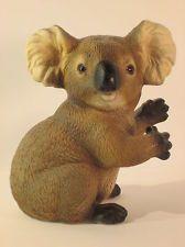 Koala Bear figurines | Vintage Ceramic Koala Bear Marsupial Figurine Statue Signed Harvey ...