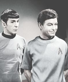 """""""I'm going to tell you something that I never thought I'd hear myself say. But it seems that I've missed you. And I don't know if I could stand to lose you again."""" - McCoy, to an unconscious Spock,Star Trek III: The Search for Spock"""
