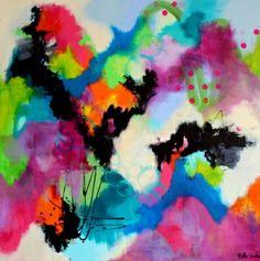 AKRYLMALERIER - Klik her og se akrylmalerier med masser af farver