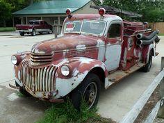 Chevrolet Fire Truck