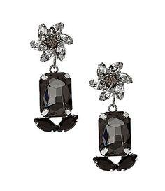 Cezanne Deco Pinwheel Drop Earrings #Dillards