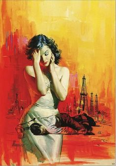 Robert Maguire, Wild Town by Jim Thompson 1957.