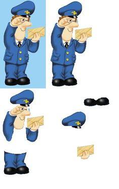 postman pat Kids Cartoon Characters, Cartoon Kids, Christmas Sheets, 3d Cards, Easy Cards, Postman Pat, Decoupage Paper, Decoupage Ideas, Decoupage Printables