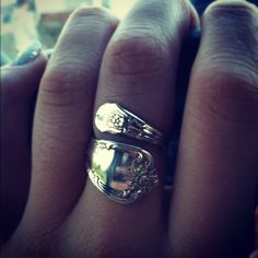 Found my spoon ring among Grandma's jewelry, after a little polishing, good as new. Love my spoon ring, very similar to this one.