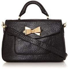 Ted Baker ~ Bow Leather Satchel