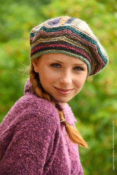 Kit tricot bonnet Lorette de ELLE TRICOTE
