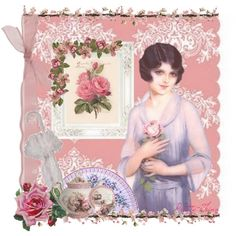 """""""Victorian Rose"""" by prettything on Polyvore"""