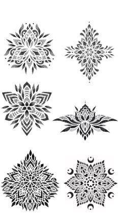 Geometric Mandala Tattoo, Geometric Tattoo Design, Mandala Tattoo Design, Mandala Dots, Sun Tattoos, Bild Tattoos, Body Art Tattoos, Sleeve Tattoos, Mandala Elephant Tattoo